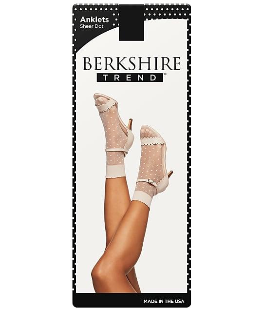 Berkshire: Extended Size Sheer Dot Anklet