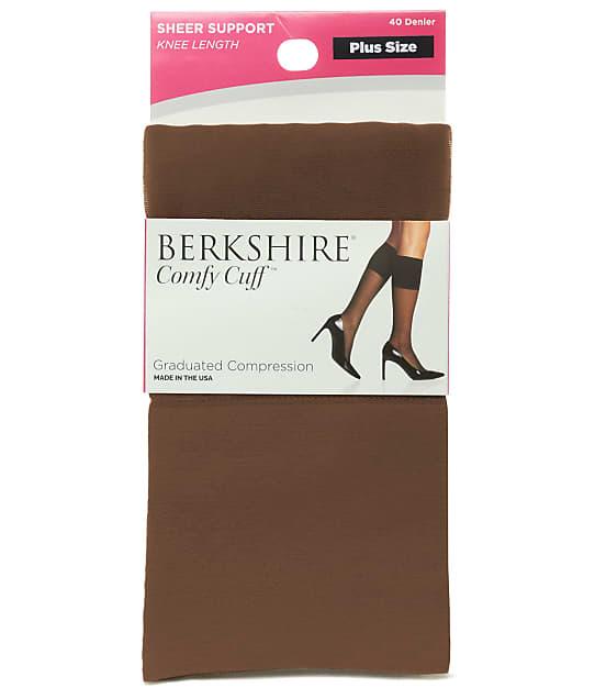 Berkshire: Plus Size Comfy Cuff Graduated Compression Sock