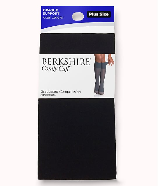 Berkshire: Plus Size Comfy Cuff Opaque Compression Trouser