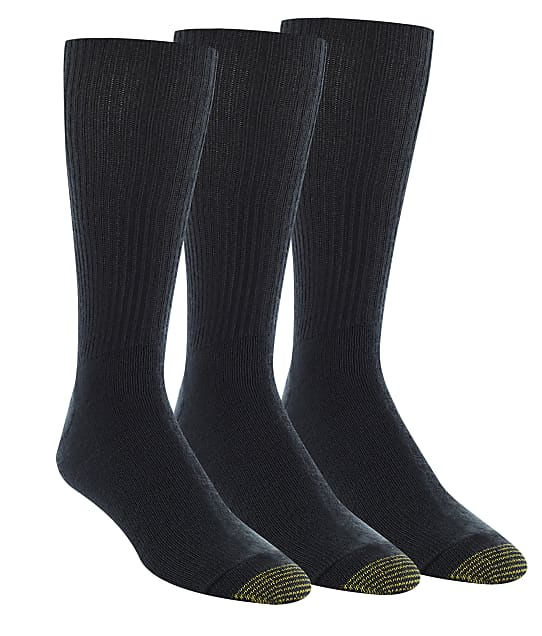 Gold Toe: Fluffies Big & Tall Socks 3-Pack