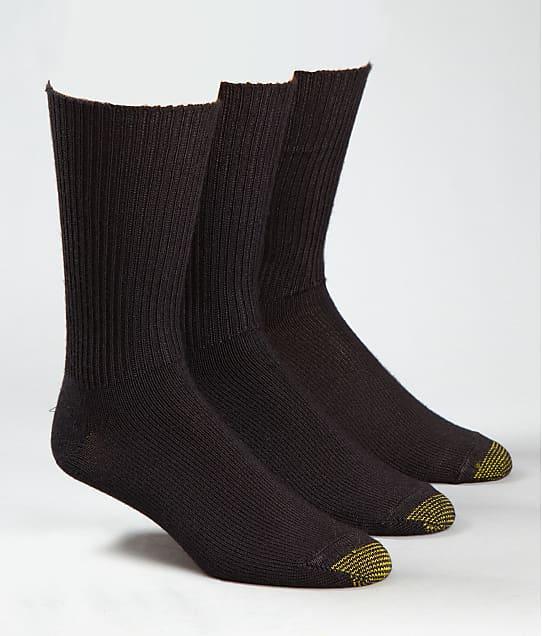 Gold Toe: Fluffies Crew Socks 3-Pack