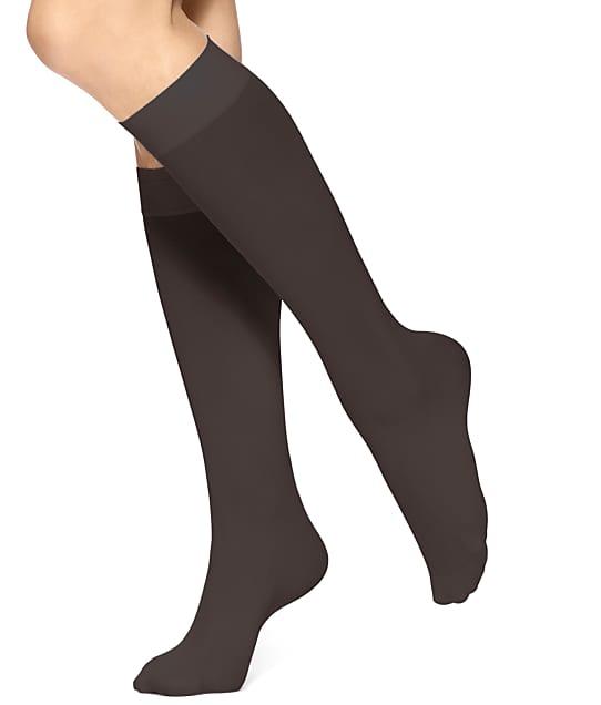 5e4696c57 HUE Soft Opaque Knee Socks