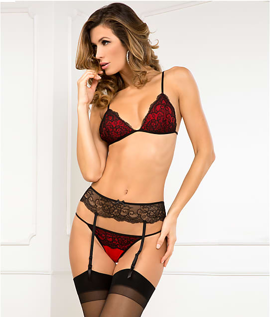 Rene Rofe: Crown Pleasure Garter Set