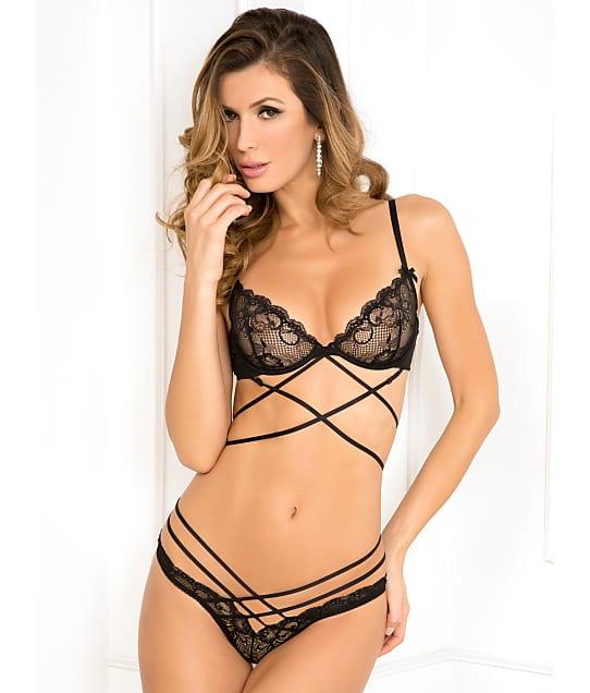 Rene Rofe: Bondage Lace Bra Set