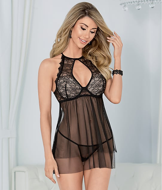 Escante: High Neck Babydoll Set