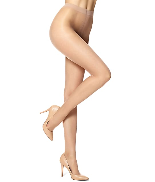 HUE: Essential Solutions Clear Control Top Pantyhose