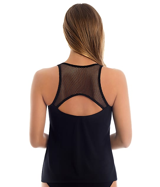 Magicsuit: Solid Paige Wire-Free Tankini Top
