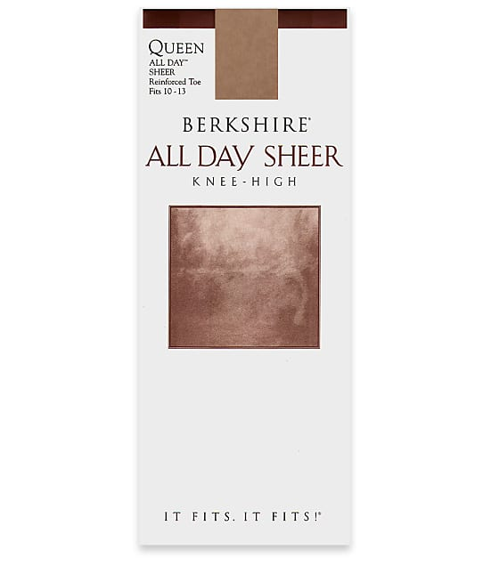 Berkshire: All Day Sheer Queen Knee Highs