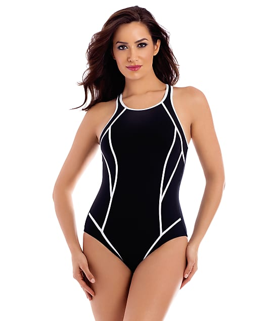 Miraclesuit: Performance Line-Up Wire-Free One-Piece
