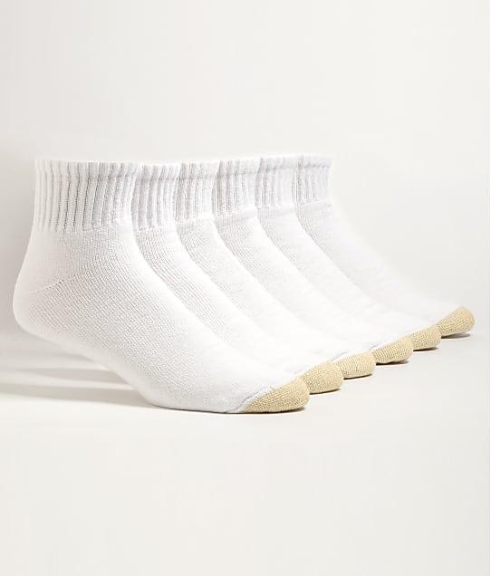 Gold Toe: Ankle Socks 6-Pack Extended Sizes
