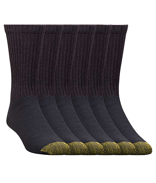 Gold Toe: Cotton Cushion Crew Socks 6-Pack