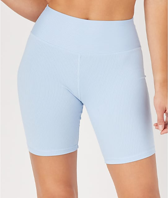 Glyder High Power Bike Shorts in Ice Blue(Front Views, Icy Blue) 6644