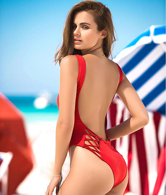 Mapalé: Ultra-Low Scoop Back One-Piece