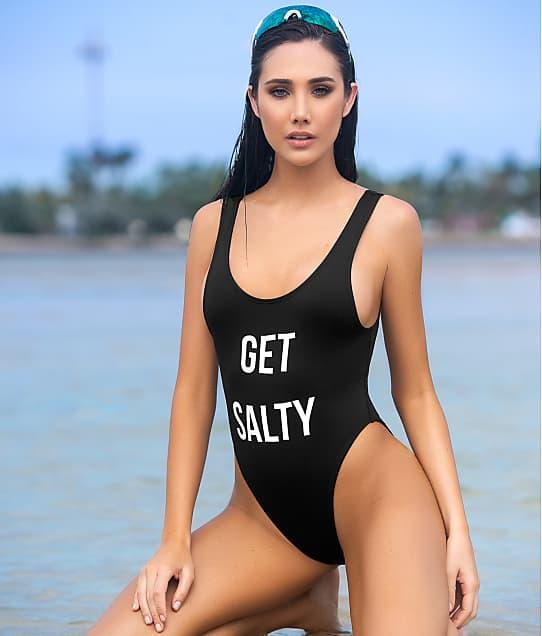 Mapalé Get Salty One-Piece in Black 6995-SALTY