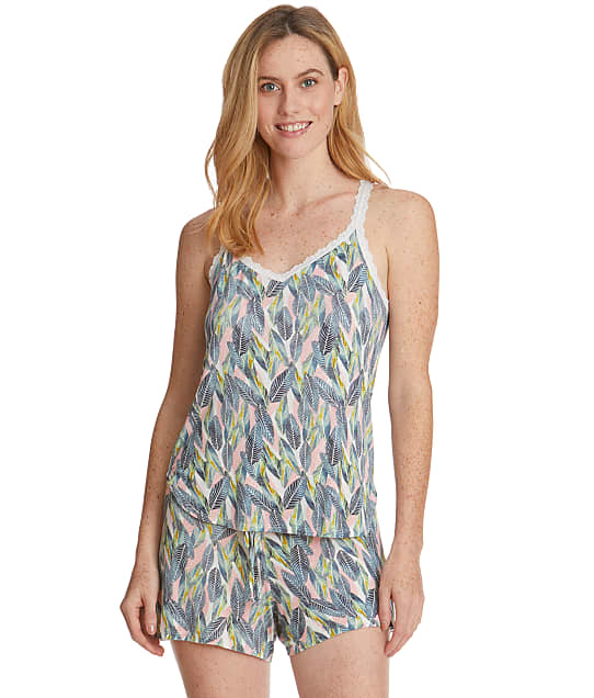 Hanky Panky: Tropical Palm Leaf Knit Pajama Set