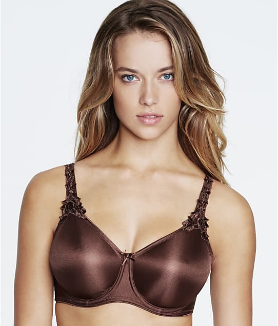 Dominique Seamless Minimizer Bra in Chocolate(Front Views) 7000