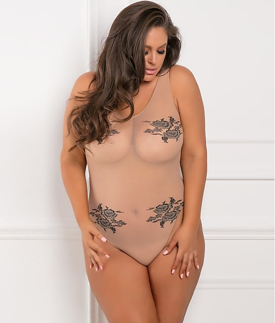 Rene Rofe: Plus Size Romantic Bodysuit
