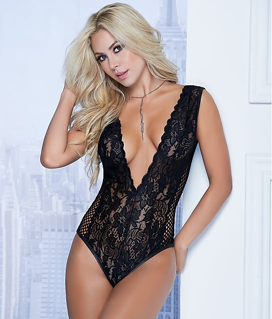 Mapalé: Lace V-Back Wireless Teddy
