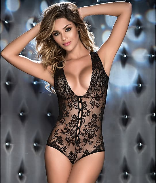 Mapalé: Button-Up Lace Wireless Teddy