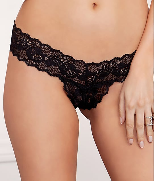 iCollection: Lace Crotchless Thong