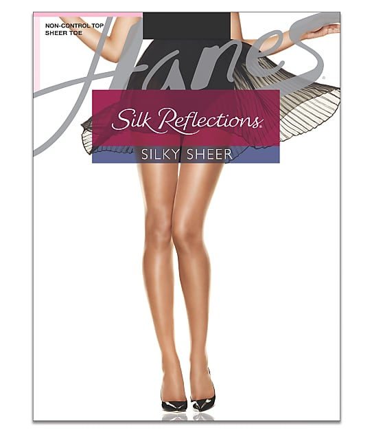 Hanes: Silk Reflections Sandalfoot Pantyhose