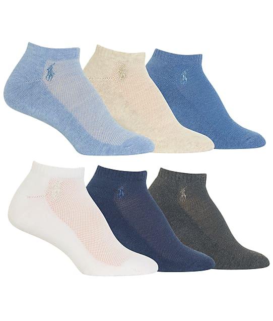 Ralph Lauren: Low-Cut Sport Socks 6-Pack
