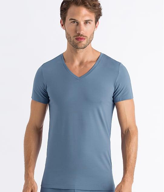 Hanro: Cotton Superior V-Neck T-Shirt
