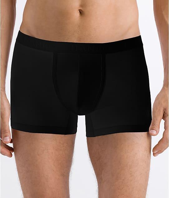 Hanro Cotton Essentials Boxer Brief in Black 73102