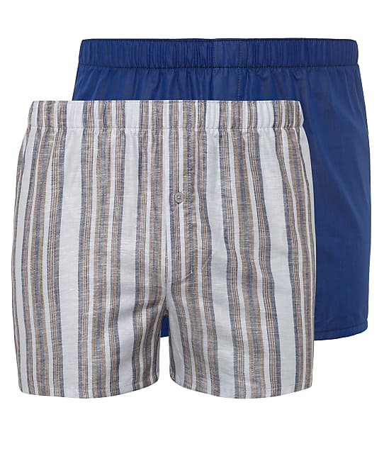 Hanro: Fancy Woven Boxer 2-Pack