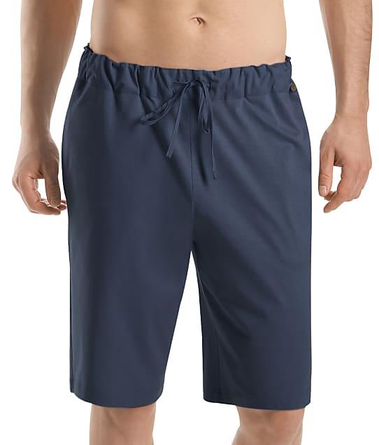 Hanro Night & Day Knit Lounge Shorts in Black Iris(Full Sets) 75434