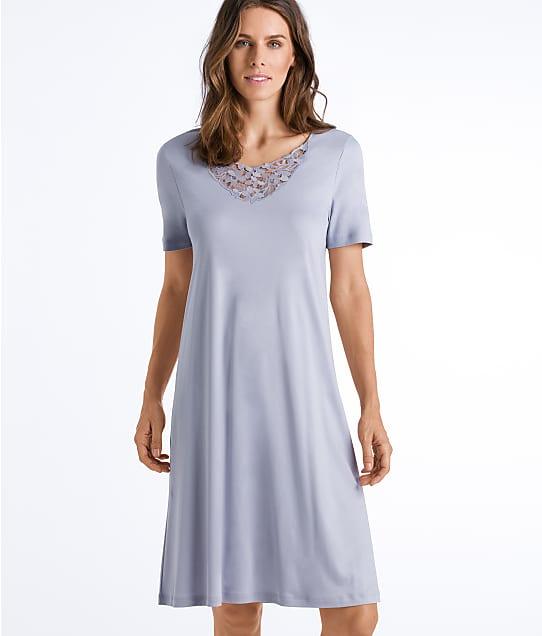 Hanro Dorea Cotton Nightgown in Titan 76830