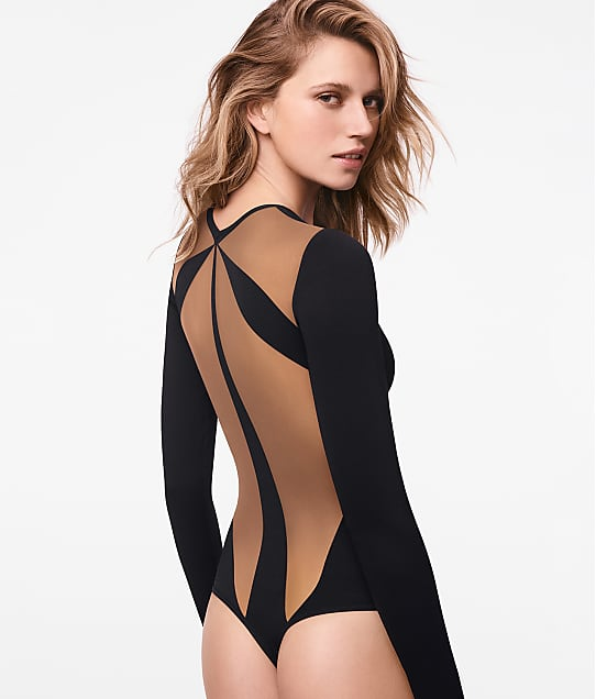 Wolford: Icon String Thong Bodysuit