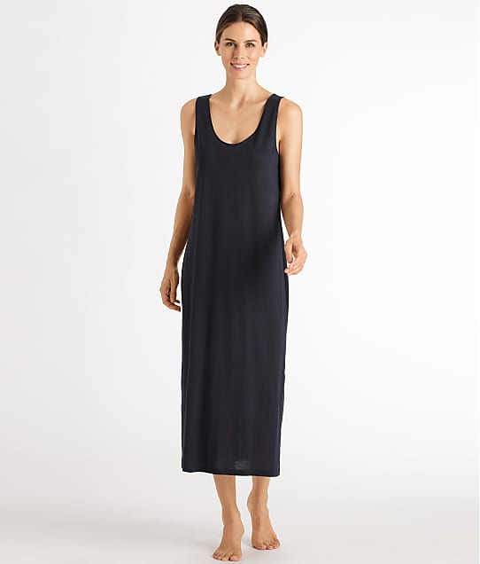 Hanro: Laura Long Tank Knit Gown