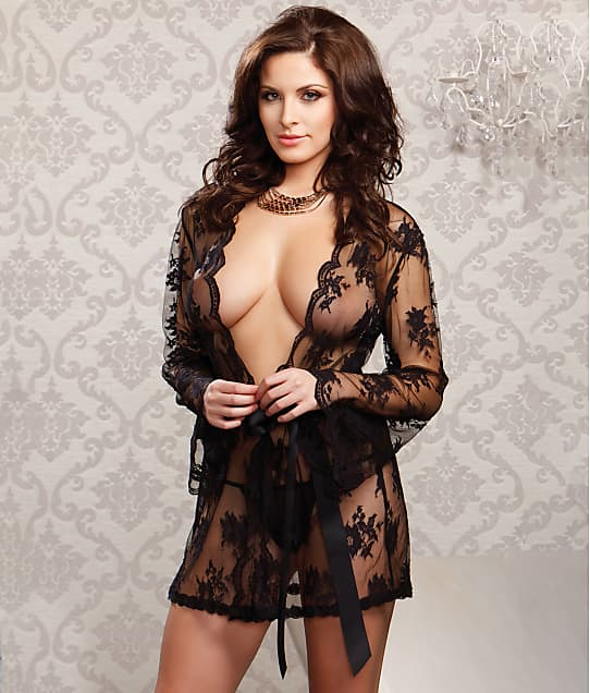 iCollection: Floral Lace Robe