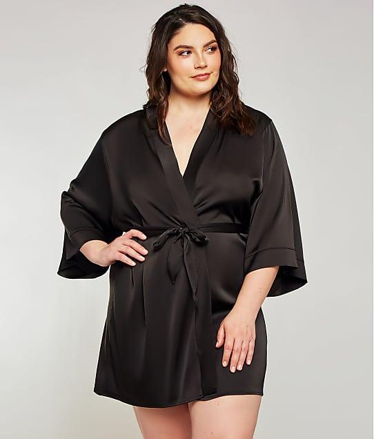 iCollection: Plus Size Murielle Satin Robe