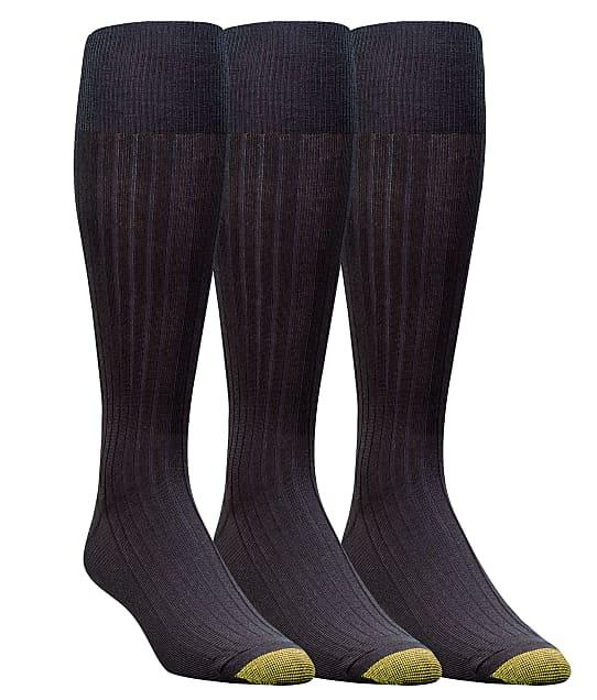 Gold Toe: Canterbury Over The Calf Dress Socks 3-Pack