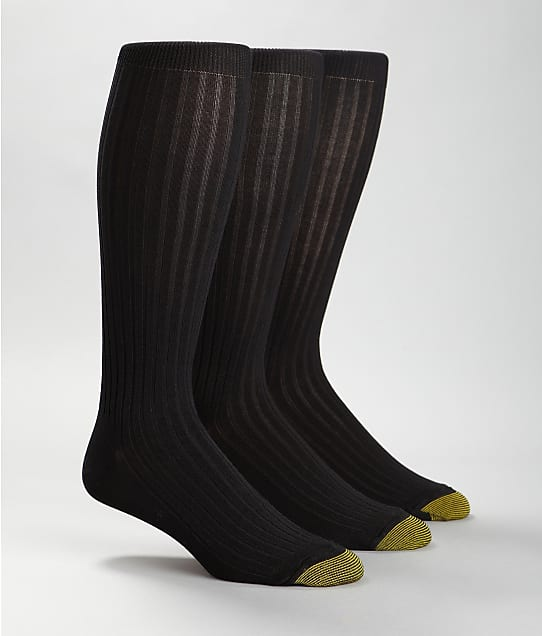 Gold Toe: Canterbury Over The Calf Dress Socks 3-Pack