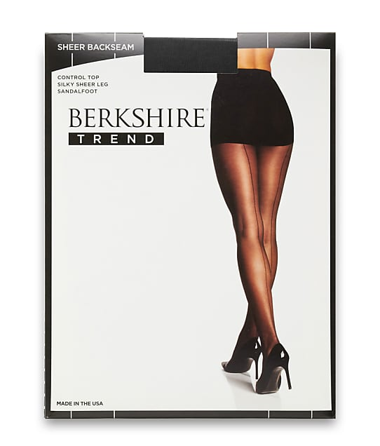 Berkshire: Sheer Back Seam Control Top Pantyhose