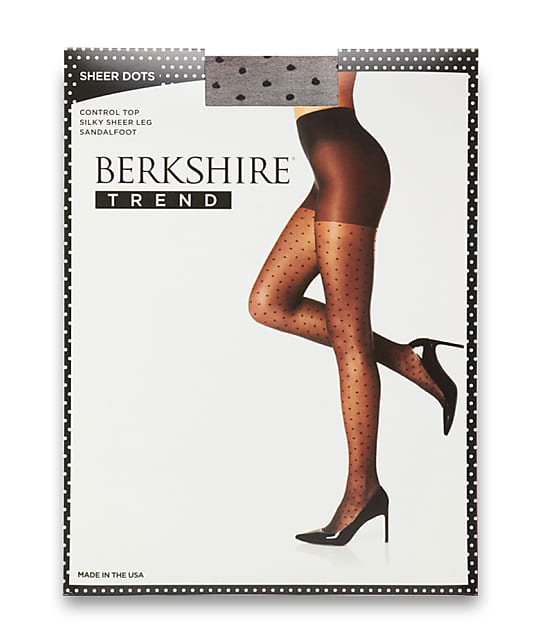 Berkshire: Sheer Dots Control Top Pantyhose