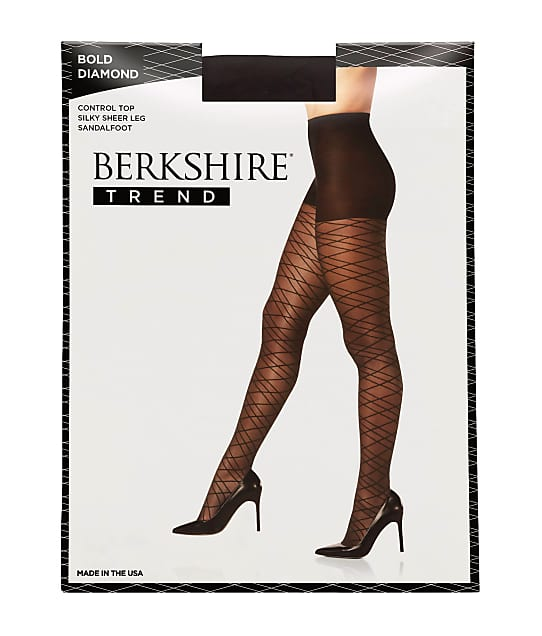 Berkshire: Bold Diamond Control Top Pantyhose