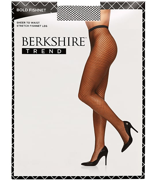 Berkshire: Bold Fishnet Pantyhose