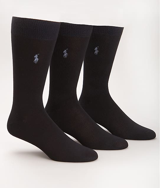Polo Ralph Lauren: Super Soft Crew Dress Socks 3-Pack