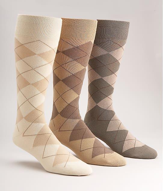 Polo Ralph Lauren: Argyle Cotton Crew Socks 3-Pack