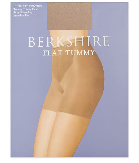 Berkshire: Flat Tummy Silky Sheer Pantyhose