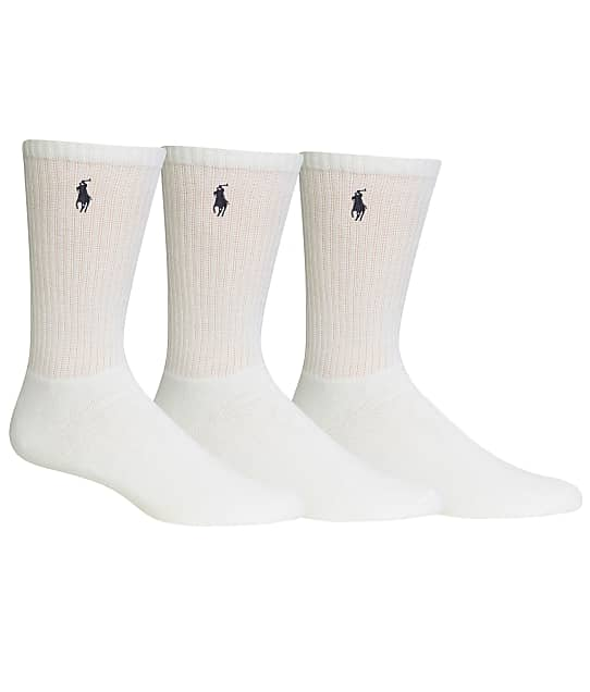 Polo Ralph Lauren: Big & Tall Classic Sport Crew Socks 3-Pack