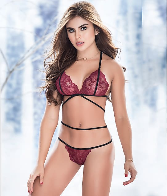 Mapalé: Lace Wireless Bra Set