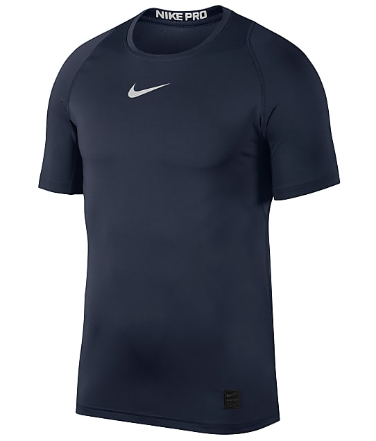 Nike: Pro Mesh Fitted T-Shirt