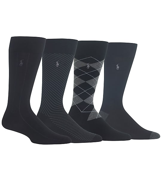 Polo Ralph Lauren: Assorted Dress Socks 4-Pack