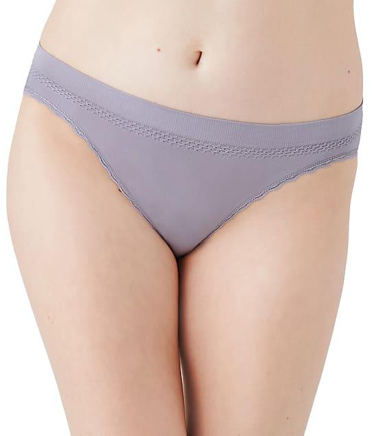 Wacoal B-Smooth Trim Bikini in Dapple Gray(Full Sets, Dapple Grey) 873374
