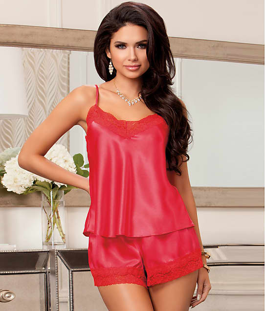 iCollection: Satin Cami & Short Set